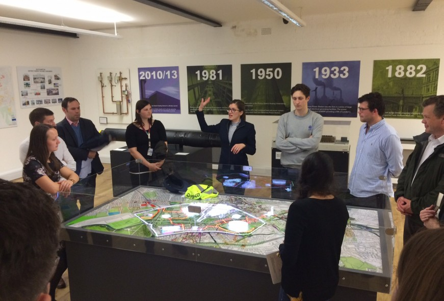D2E attend CIBSE Young Engineers tour of Stratford Olympic Park