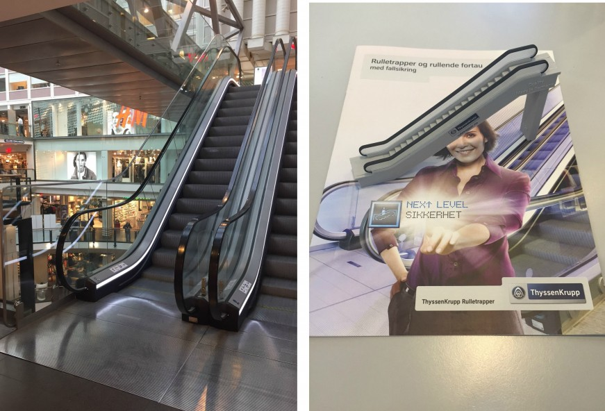 How the Norwegian Requirements for Escalator Fall Preventation Have Shaped Innovation
