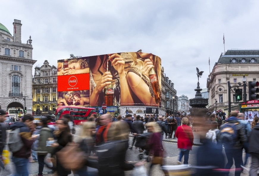 Sponsor the Piccadilly Lights switch on!