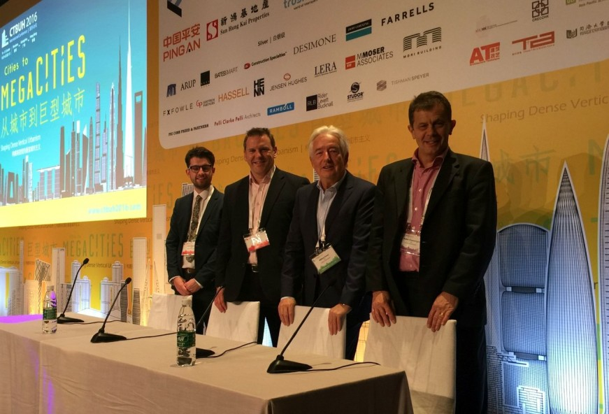 D2E's attendance at CTBUH 2016: Cities to Megacities