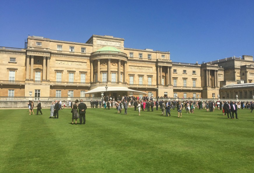 D2E attend RoSPA Royal Garden Party