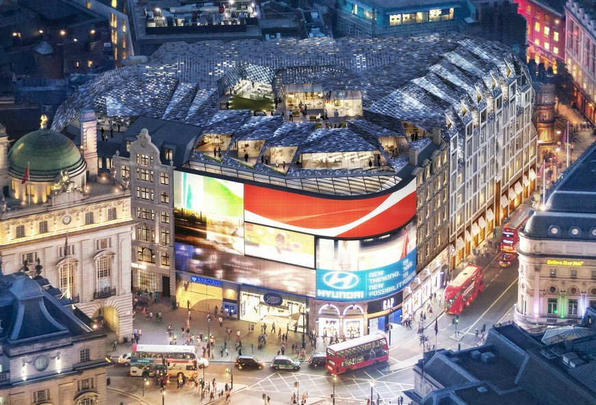 Piccadilly Lights to Undergo a Revamp During 2017
